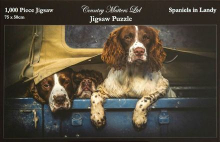 Spaniels in Landy 1000 Piece Jigsaw